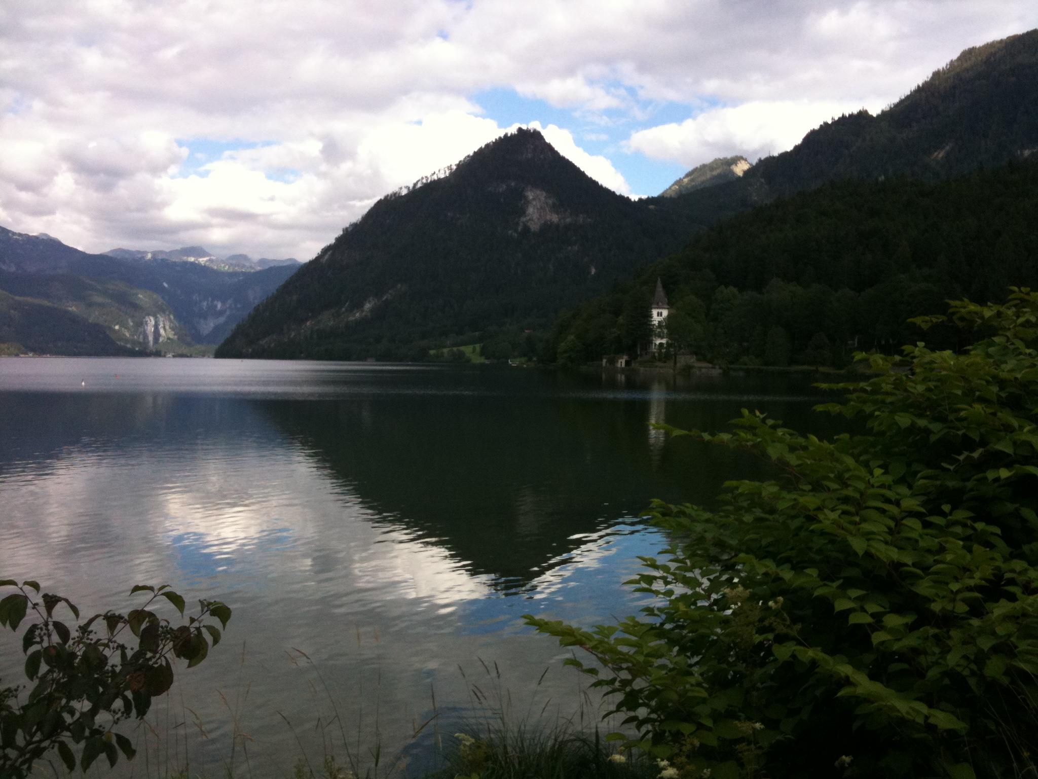 Hallstätter See - hier war unser Hotel