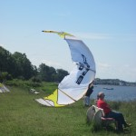 Wind-&Kyte Sufer bei Wiek