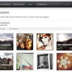 Instagram Bilder in WordPress