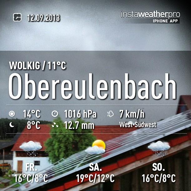 Instagram: sieht nach (viel) Regen aus #obereulenbach #hallertau