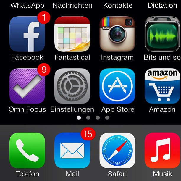 Instagram-Photo: #ios7  installed