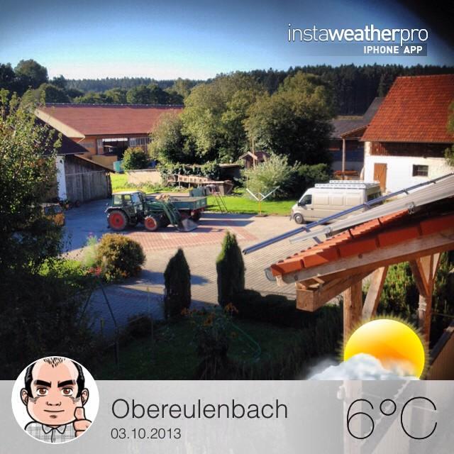 Instagram-Photo: Sonnig, aber ziemlich kalt. #obereulenbach