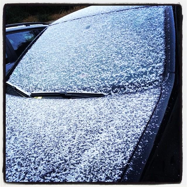 Instagram-Photo: Erste Schnee