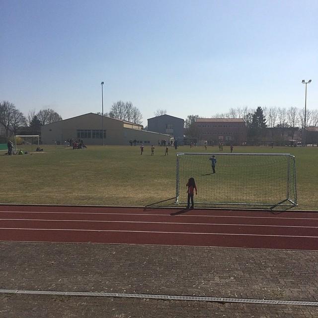 Fußballspiel in