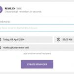 reme.io – geplante Erinnerungs-Mails verschicken
