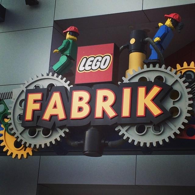 Gestern im Legoland DE