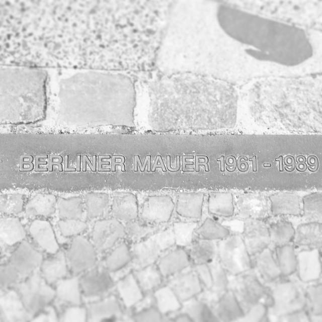 Hier war mal die Berliner Mauer.