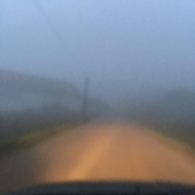 Nebel auch im Oktober