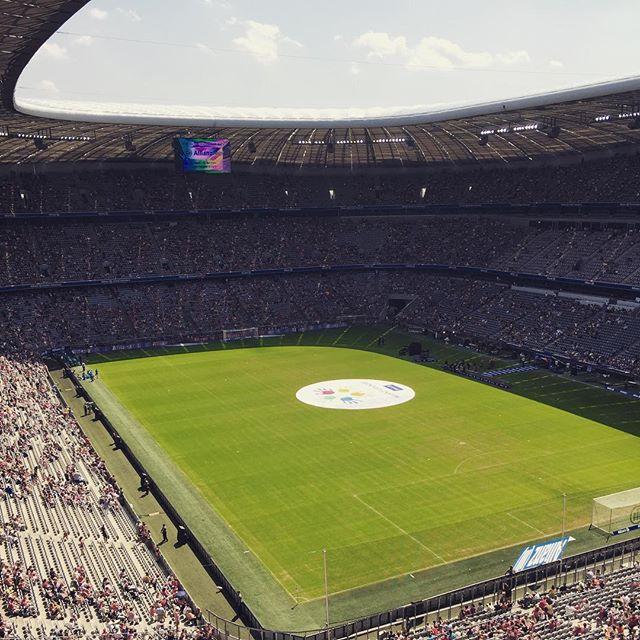 FC Bayern Teampräsentation in der