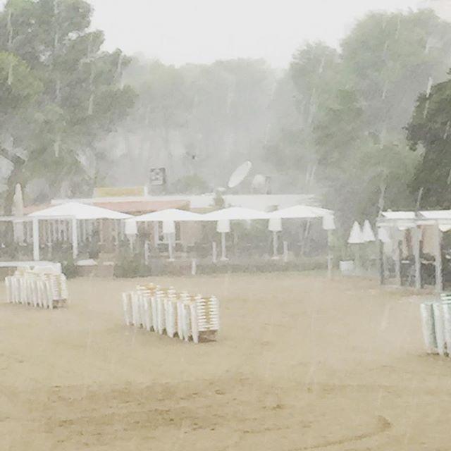 Ibiza: Tag der Abreise. Perfektes Wetter dafür.