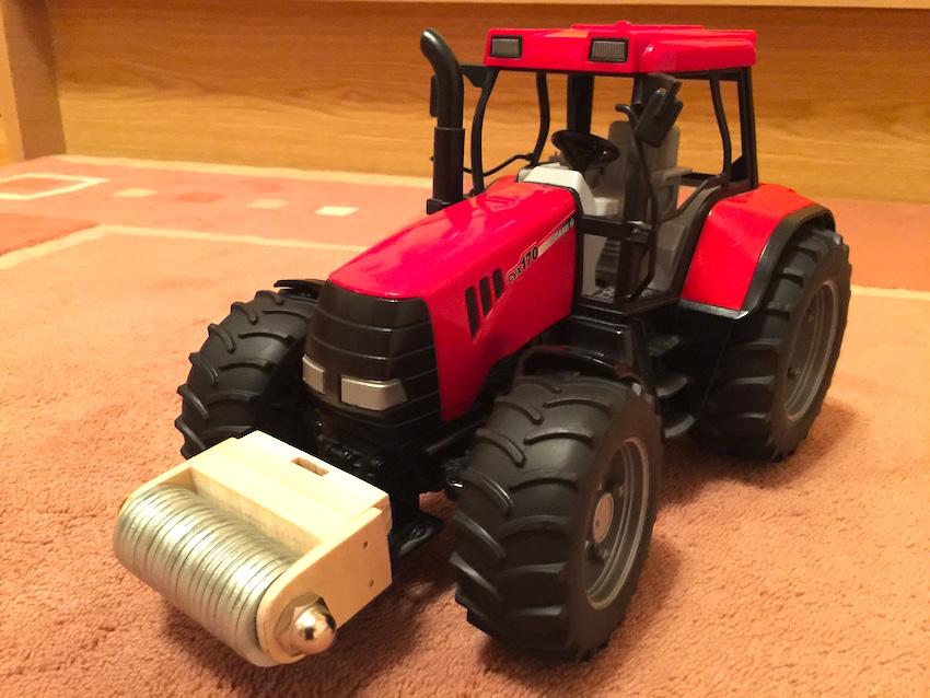 selbstgebautes bulldog gewicht f r bruder traktor. Black Bedroom Furniture Sets. Home Design Ideas