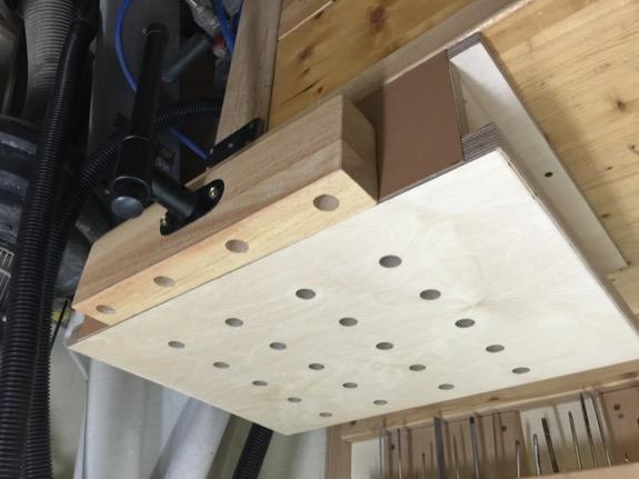 seitliche spann zange f r werkbank selber bauen. Black Bedroom Furniture Sets. Home Design Ideas