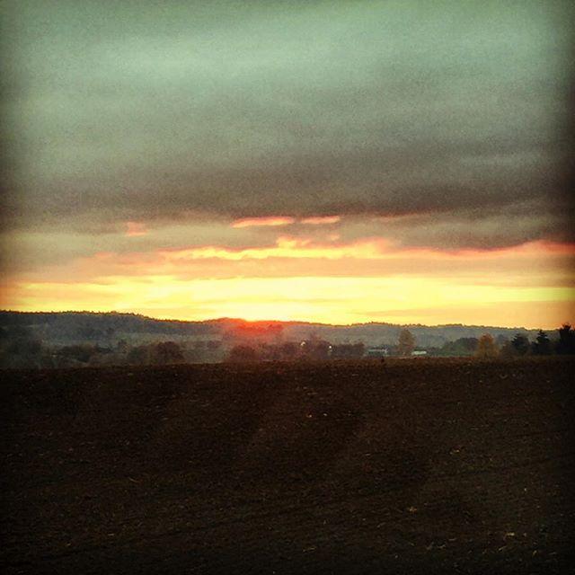 Sonnenuntergang bei Wildenberg