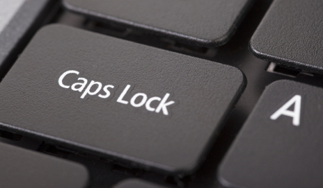 capslock_shutterstock_56522899