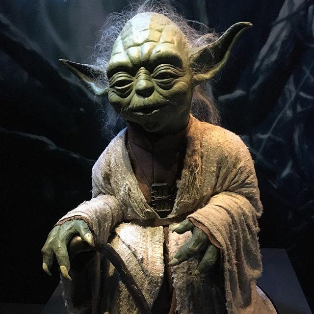 Jedi Meister Joda war auch da.