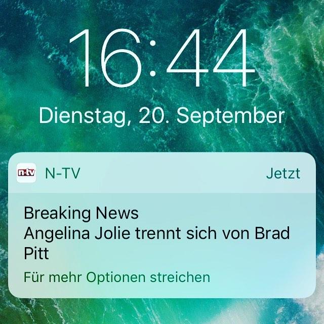Wirklich wichtige Breaking News