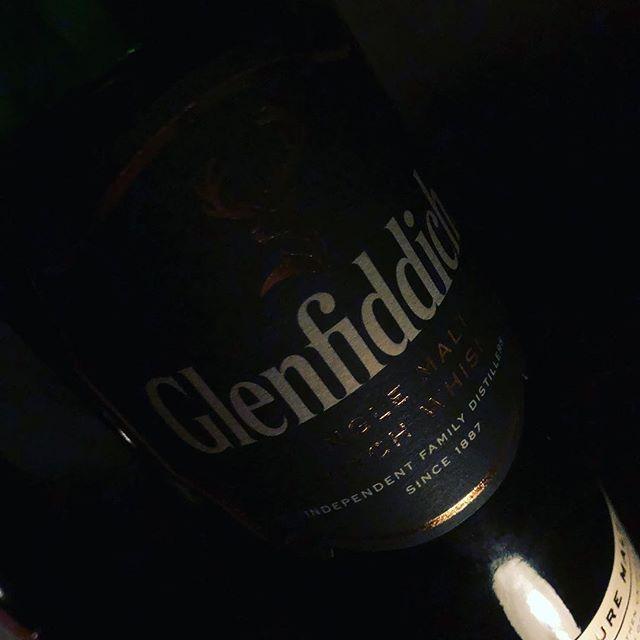 Glenfiddich Whisky an der Schneebar
