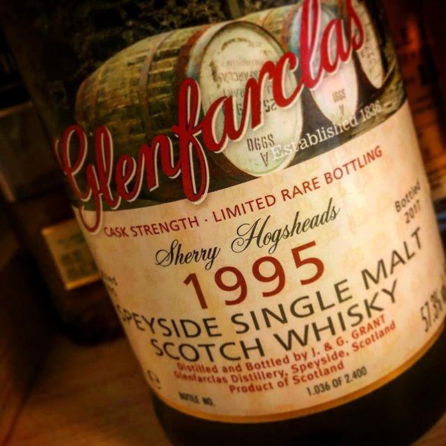 Glenfarclas Whisky aus 1995 zur Feier des Tages