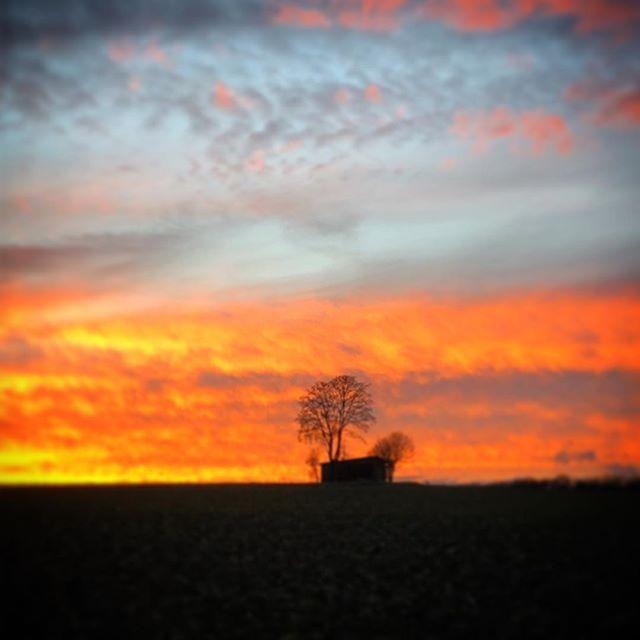Sonnenuntergang in Obereulenbach # haindlschupfa