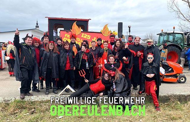 Auch in Langquaid haben unsere Feier-Teufelchen ordentlich Werbung für unser 125-jähriges Gründungsfest gemacht.